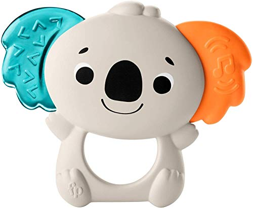 Fisher-Price Teether Tunes Koala, animal-themed musical teething toy for baby ages 3 months and older