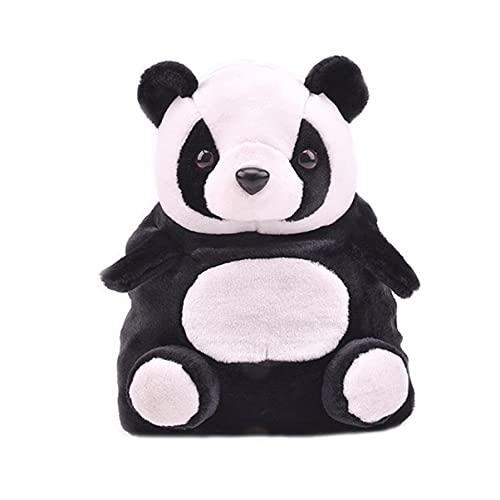 Karikatur Panda-Rucksack Chubby Hamster Eichhörnchen Plüsch Spielzeug Puppe Rucksack Umhängetasche Geburtstagsgeschenk 1pc (Panda)