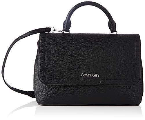 Calvin Klein Top H W/Flap, Accesorios para Mujer, Black, One Size