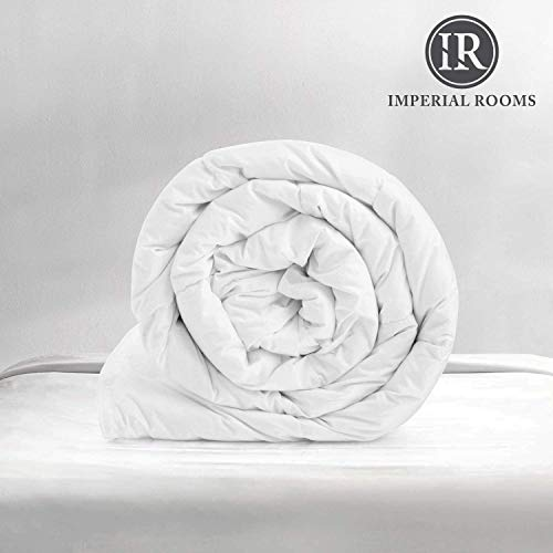 Imperial Rooms 4.5 Tog Single Duvet Tog Anti Allergy Hollowfibre Quilt Summer Quilt