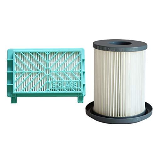 DEtrade Filterelement Für Philips FC8720 FC8733 FC8734 FC8736 FC8738 FC8740 FC8748 Staubsauger Ersatzteile (White)