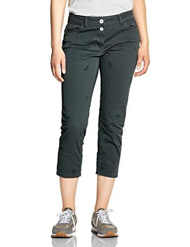 CECIL Damen 372217 Charlize Slim Jeans per pack Grün (slate green 11687), W31 (Herstellergröße:31)