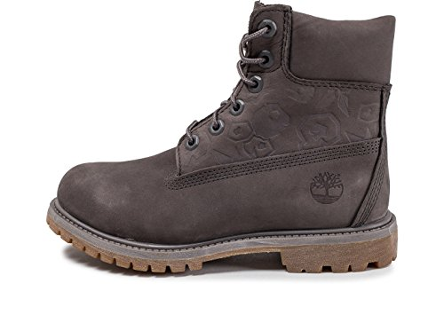 Timberland Damen 6 In Premium Boot W A1K3P Sneaker, Mehrfarbig (Grey 001), 39.5 EU
