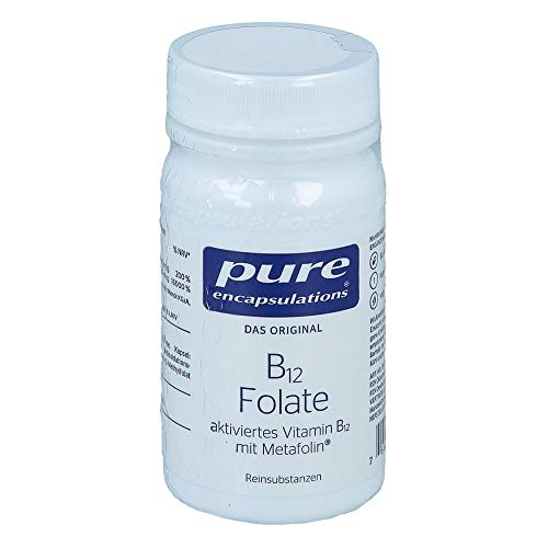 PURE ENCAPSULATIONS B12 Folate Kapseln 90 St
