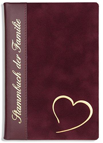 Stammbuch Leder Hochzeit Klemmschiene Veliko Stammbuch der Familie