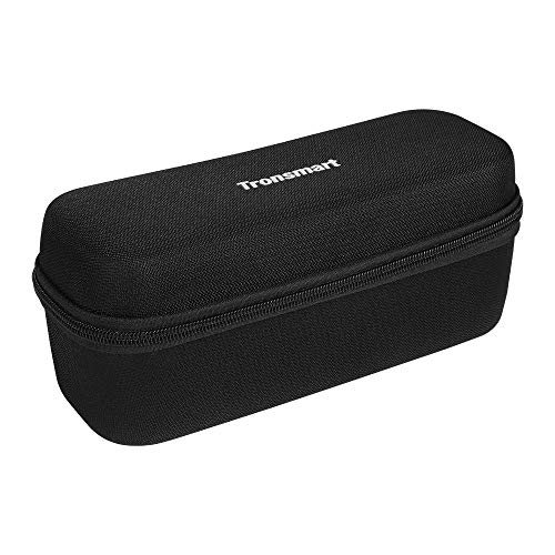 Tronsmart Hard Storage Travel Case Tragetasche für Force, Force +, T6 Plus Bluetooth Tragbarer Lautsprecher; Robuste Eva-Schale mit wetterbeständigem Reißverschluss und Karabinerhaken