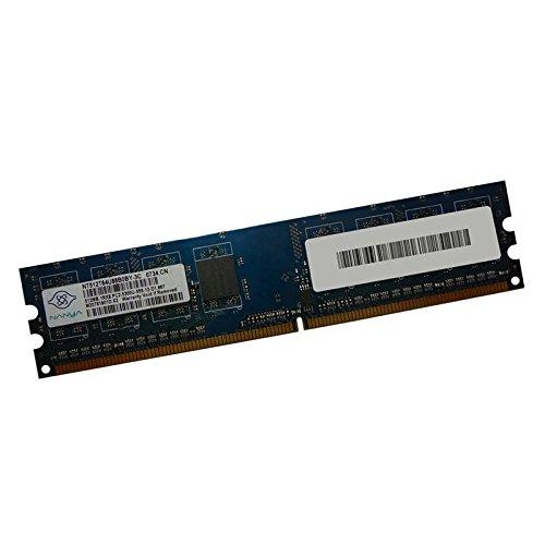 512MB RAM memoria PC Nanya nt512t64u88b0by-3C DDR2PC2–5300U 667mhz 2Rx8CL5