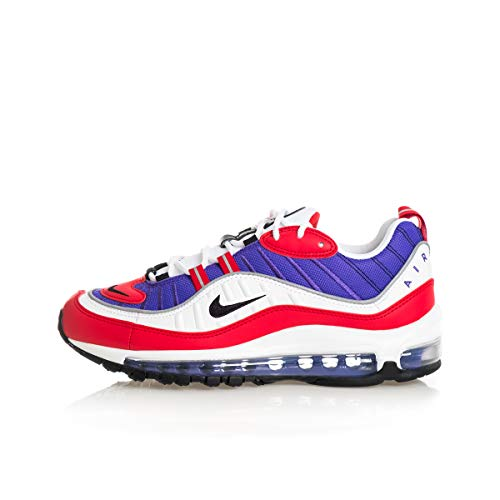 Nike Damen W Air Max 98 Laufschuhe, Rot (Psychic Purple/Black/Univ Red/White 501), 35 1/2 EU