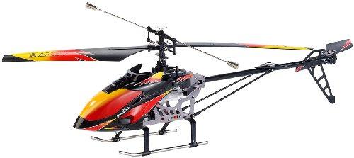 Simulus RC Helikopter: Funkgesteuerter Outdoor-4-Kanal-Hubschrauber GH-720, 2,4GHz (RC Hubschrauber Outdoor)