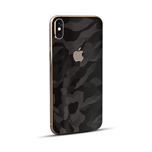 Normout iPhone X Skin Schutzfolie Rückseite Phantom - 2X iPhone X Backcover Glas Folie, inklusive 2X iPhone X Kamera Folie -Schützt vor Kratzern, Beschädigungen, Schmutz & Fingerabdrücken