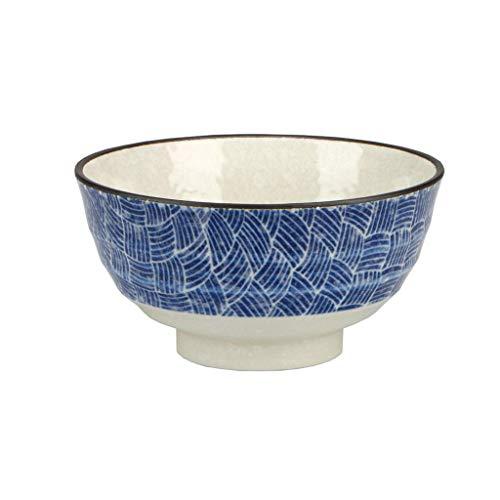 CESULIS Tazón de cerámica Hogar Tazón grande Fideos Bowl Plato Cubiertos Vintage Sopa Bowl Trabajo Cubo Bowl Ramen Bowl Rice Bowl Fruit Display