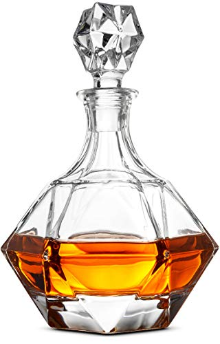 Our #3 Pick is the FineDine European Style Glass Dry Bar Whiskey Decanter