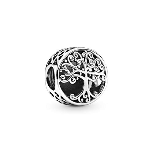 Pandora 797590 Sterling Silver Family Roots Charm Donna, Argento