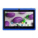 IKAYAAA Tablet PC para niños de 7 Pulgadas con cámaras duales 8GB Quad-Core Wi-Fi Tablet PC Pad