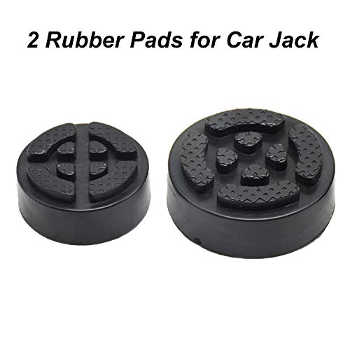 E-HEELP 2 Pack Car Jack Lift Pad Adapter for Electric Car Jack Scissor Jack