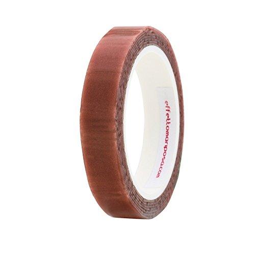 Effetto Mariposa EMCHCRM dubbelzijdig plakband voor slagen unisex volwassenen, rood