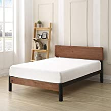Classic Brands Memory Foam 8-Inch CertiPUR-US Certified, Adjustable Base Friendly Mattress, Twin, White