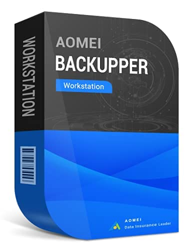 Backupper WorkStation Data Recovery Software - AOMEI - 1 code = 1 PC/DIGITAL DELIVERY