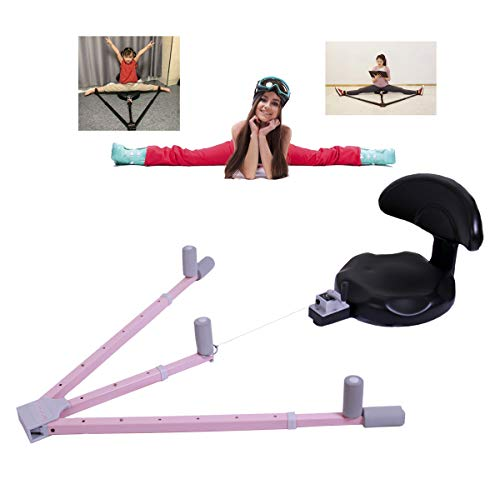 GLWAD Leg Stretcher, Leg Split Stretcher Machine, Versaflex Stretching Machine, Flexistretcher, Ligament Stretcher, Leg Flexibility Training Equipment. (Pink)