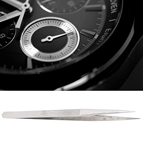 Pinzas para relojes, pinzas para recoger joyas fáciles de usar Oxidación por óxido para mantenimiento de relojes para piezas de relojes profesionales para reparación de relojes para