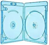 Network Trading - Juego de 6 cajas de almacenamiento para Blu-Ray (2 unidades, 11 mm)