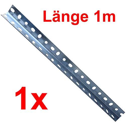 1x Montagewinkel - L 30x30x1000