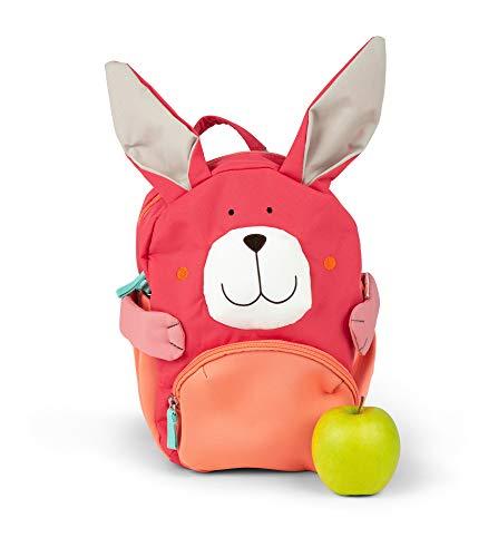 Sigikid Mini Rucksack, Hase Mochila infantil, 26 cm, 8.008 liters, Rosa (Pink)