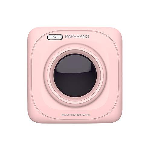 PAPERANG Pocket Mini Impresora P1 BT4.0 Conexión telefónica inalámbrica Térmica Compatible con Android iOS (Pink)