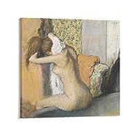 エドガー・ドガかいが絵画さくひん作品ポスター3 アートパネル ポスター キャンバスウォールアート現代 印刷 版画 壁掛け 壁の絵 部屋飾り24×24inch(60×60cm)
