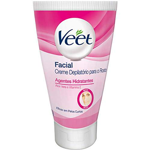 Depilatório Creme 40 ml Facial Unit, Veet