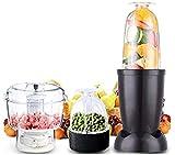 Máquinas de exprimidor, Juicer Mini Exprimidor eléctrico Bebé Beber Blender Fruta Jugo Maker Grinder MinCER-EE. UU. Chopper Carne Mezclador de MinCroducción Sin Smoothie Milkshake Shredder-Black 220V,