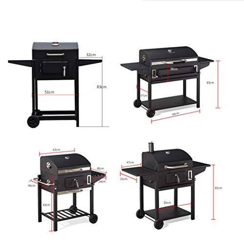 413eZwCPKQL. SL500  - wanhaishop Camping Grill Großer Grill im Freien Home Charcoal Grill Field Barbecue Picknickgrill