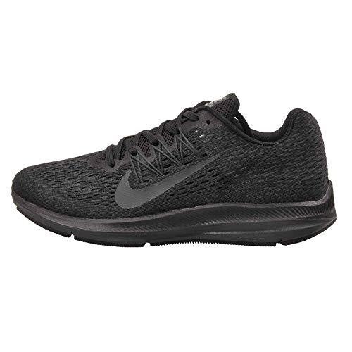Nike Women's Air Zoom Winflo 5 Running Shoe, Black/Anthracite, 8.5