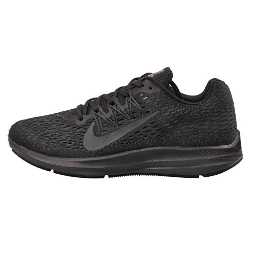Nike Women's Air Zoom Winflo 5 Running Shoe, Black/Anthracite, 10