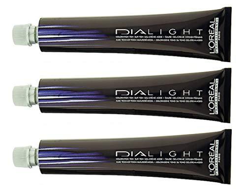 Loreal Dialight 10.12 milkshake silver perlmutt 3 x 50 ml Intensiv Tönung LP Semi-Permanente Coloration Dia Light