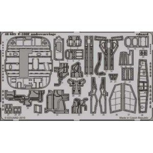 Eduard - Eduard - 48685 - Kit Transformation F 100F Undercarriage for Trumpeter - 1:48
