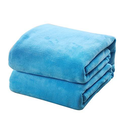 Oyfel Manta Invierno Polar Super Soft Impermeable Termica para Navidad Sofa Silla Oficina Cama (50 * 70CM)