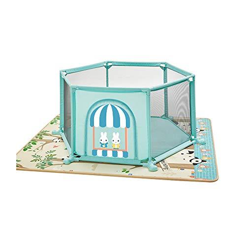 MKJYDM Protección for bebés Casa de Juegos for niños Cerca del bebé Zona de Juegos for Interiores Arrastre Matura for niños pequeños Cerca de Seguridad for niños Valla de Juegos para niños