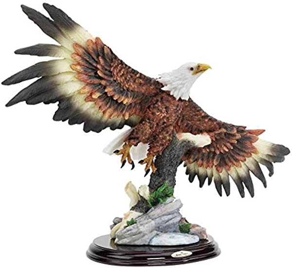 Design Toscano 12 5 In Wingspan Bald Eagle Statue