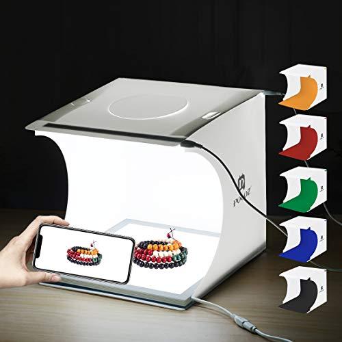 Cubo fotográfico sistema de fondo estudio de fotografía móvil luz carpa para celebraciones foto 60x60x60 cm