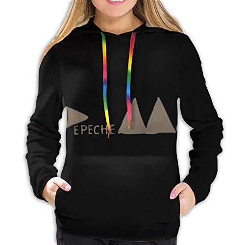 fenrris65 Depeche Dm Mode Women 3D Realistic Digital Print Pullover Hoodie Hooded Sweatshirt S