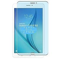2枚 VacFun ブルーライトカット フィルム , Samsung Galaxy Tab E 8.0 T3777 8 インチ 向けの ブルーライトカットフィルム 保護フィルム 液晶保護フィルム(非 ガラスフィルム 強化ガラス ガラス ) ニュー