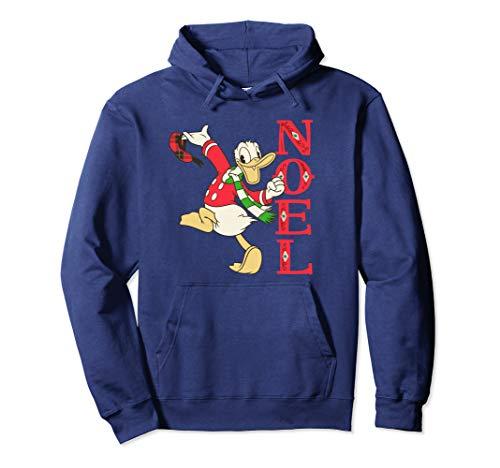 Disney Vintage Donald Duck Noel Holiday Pullover Hoodie