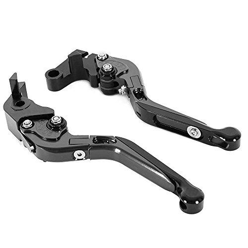Motorrad-Bremsen/Kupplungshebel für Yamaha WR 125X 2011–2015 - CNC - für Rennen - verstellbar - zusammenklappbar - ausziehbar