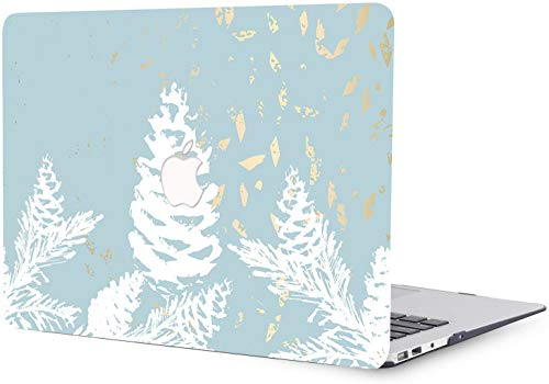 MacBook Pro 15 inch Case 2019 2018 2017 2016 Release A1707 A1990, Plastic Hard Shell Case Compatible with MacBook Pro 15'/15.4' with Touch Bar and Touch ID - Pine Cones