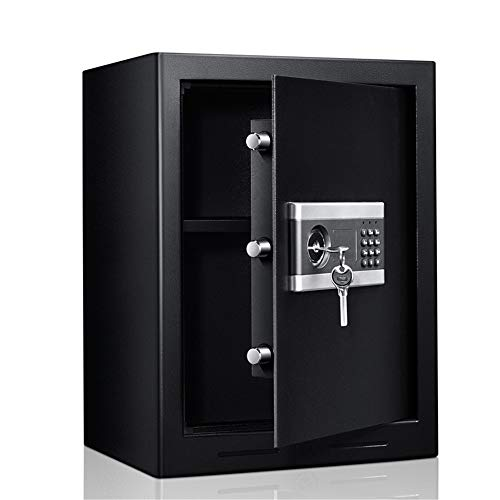 TYJKL Caja Fuerte Caja de Seguridad a Prueba de Fuego a Prueba de Fuego con Caja de Seguridad Digital de Seguridad Digital de Seguridad Digital almacenar Documentos Importantes