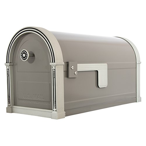 Gibraltar Mailboxes High Grove Large Capacity Galvanized Steel Light...