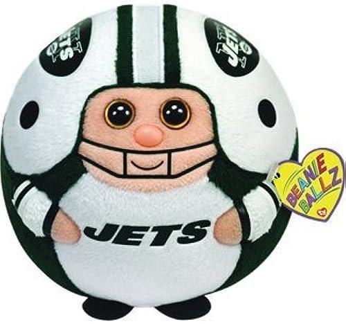Ty Beanie Ballz 13 New York Jets Plush by TY Beanie Ballz