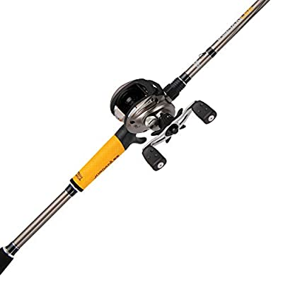 Abu Garcia Jordan Lee Low Profile Baitcast Reel and Fishing Rod Combo - JLEELP/701MH
