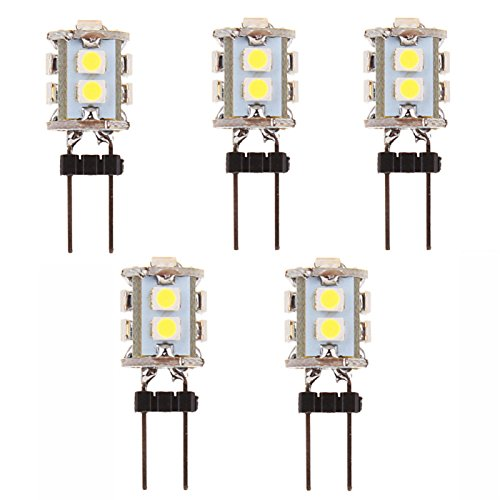 zll1990 Lumières pour Tableau de Bord/Eclairage Plaque d'immatriculation/Feux de Position latéraux/Feux Clignotants/Baladeuse/Lampe décorative (, 6000K yc402